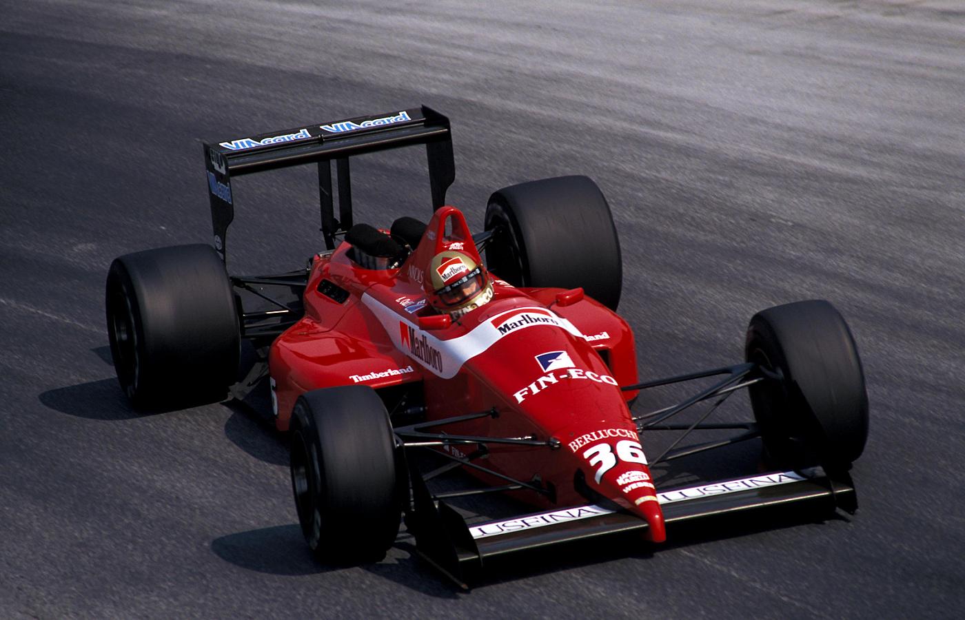 Dallara, equipe histórica de Formula 1 de 1988 - by bandeiraverde.com.br