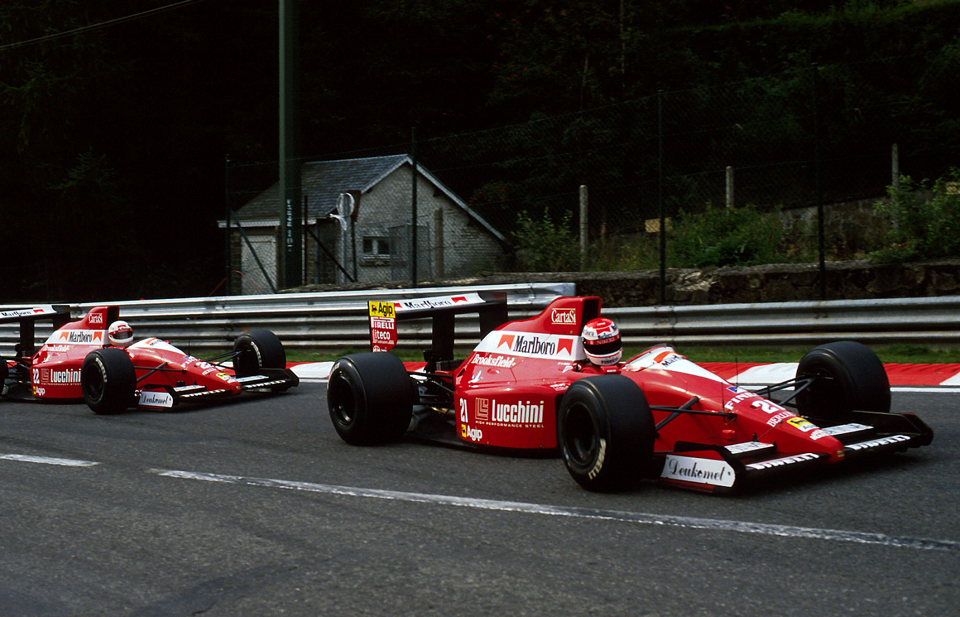 Dallara f1 1992 - foto by Bandeira Verde