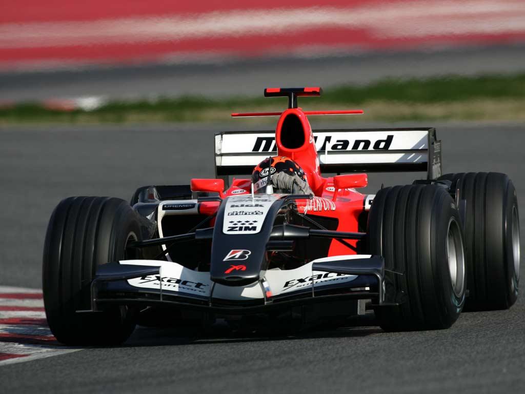 MidLand F1, equipe histórica de Formula 1 de 2006 - by bandeiraverde.com.br