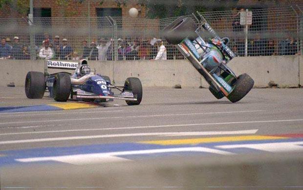 Temporada de Formula 1 em 1994, Hill vs Schumacher by bandeiraverde.com.br