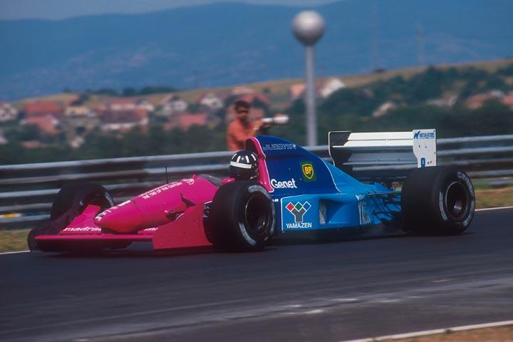 Brabham, equipe histórica da Formula 1 de 1992 - by bandeiraverde.com.br