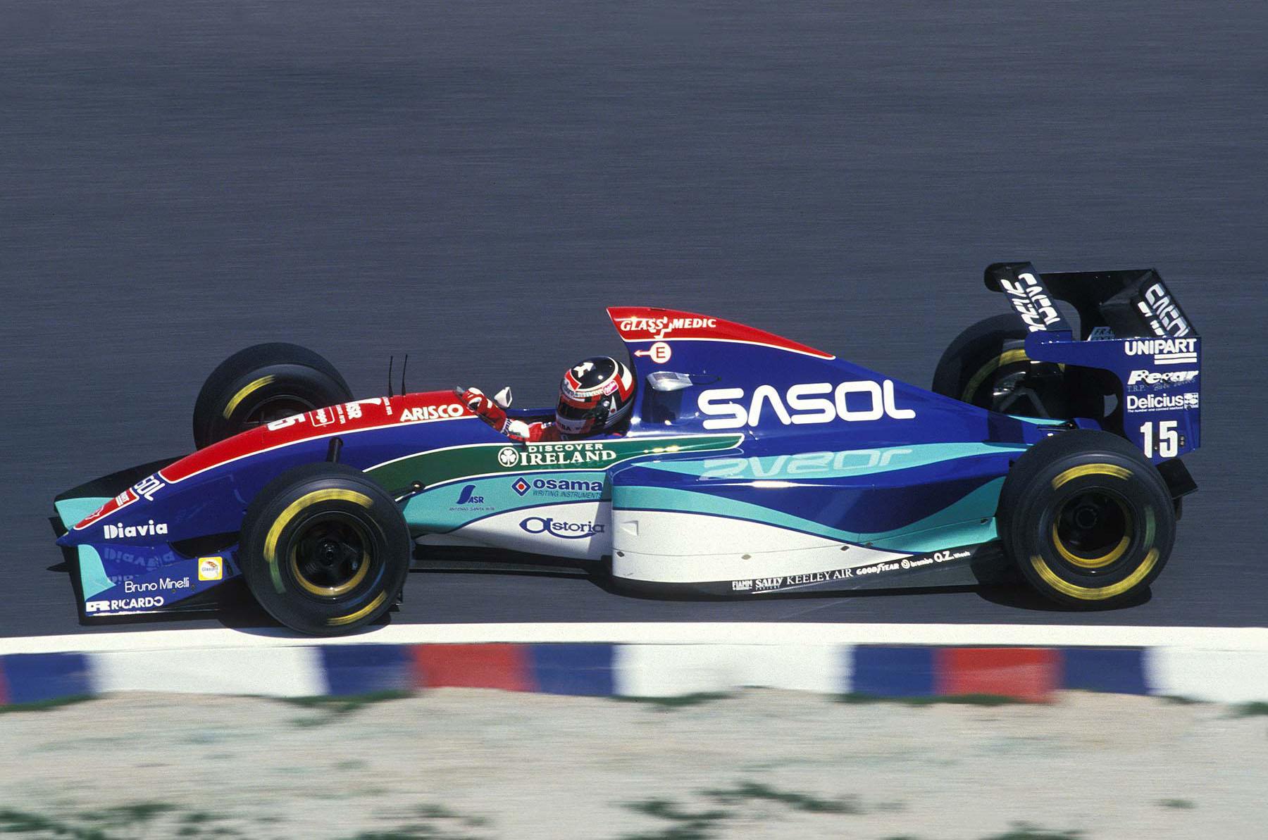 Jordan, equipe historica de Formula 1 de 1994 - bandeiraverde.com.br