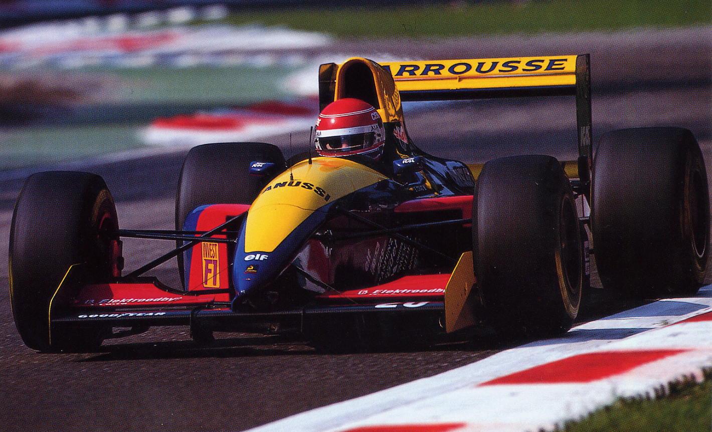Temporada de Formula 1 de 1993, Larrousse f1 bandverde