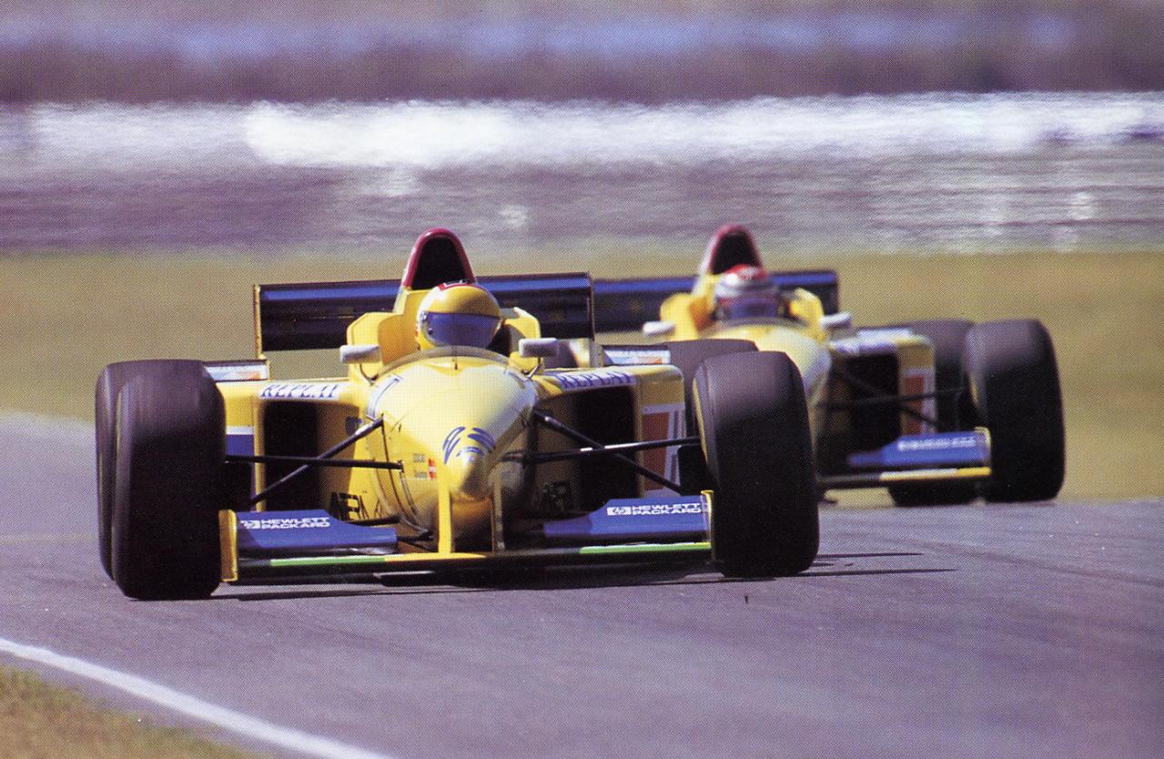 Forti, equipe histórica de Formula 1 de 1996 by bandeiraverde.com.br