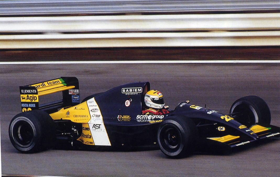 Minardi, equipe histórica de Formula 1 de 1991 - by bandeiraverde.com.br