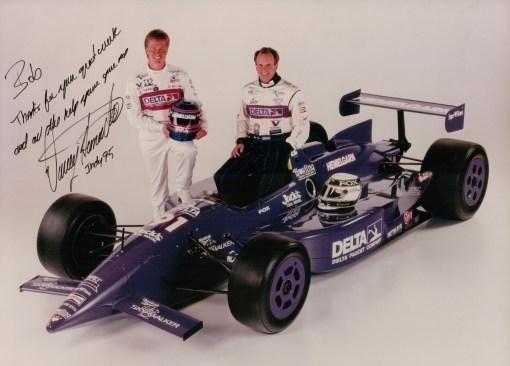 c482acb901001 Davey Hamilton e Stan Fox, os dois pilotos da Hemelgarn na Indy 500 de 1995