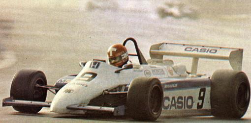 Mike Thackwell e sua Ralt foram dois dos responsáveis pela decadência fulminante da Fórmula 2 nos anos 80