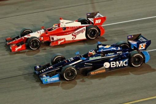 Mais Barrichello em oval. Dessa vez, em Iowa
