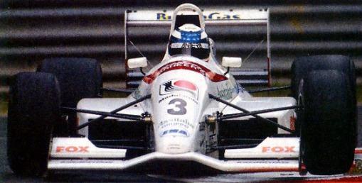 Andrea Montermini no fim de 1992