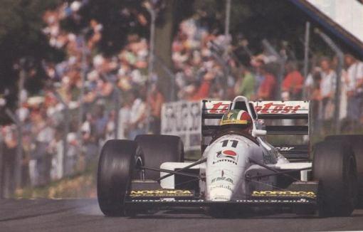 Emanuele Naspetti, a verdadeira sensação da Fórmula 3000 em 1991