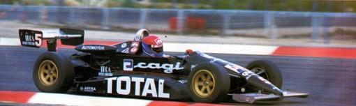Franco Forini, o primeiro campeão de Fórmula 3 com a Forti-Corse, em 1985