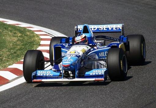 Michael Schumacher tinha tudo na antiga Benetton: casa, comida, roupa lavada, carro...