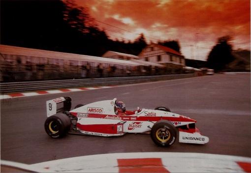 Diniz em Spa-Francorchamps em 1994