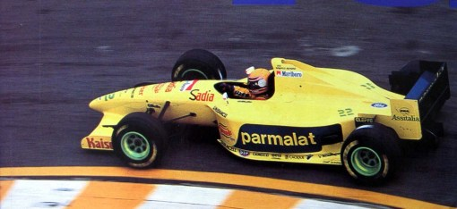 Roberto Moreno, o segundo piloto da Forti-Corse em 1995