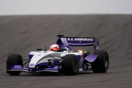 RSC Anderlecht Superleague Formula  car
