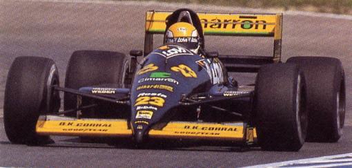 """Pensamento de Giancarlo Minardi, fundador da saudosa equipe: """"uma equipe  de automobilismo não deve dar lucro"""""""