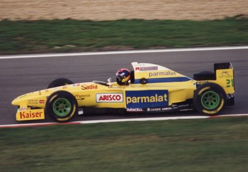 Pedro Paulo Diniz num dia diferente em Nürburgring: duelo contra Mika Häkkinen e problemas com Heinz-Harald Frentzen