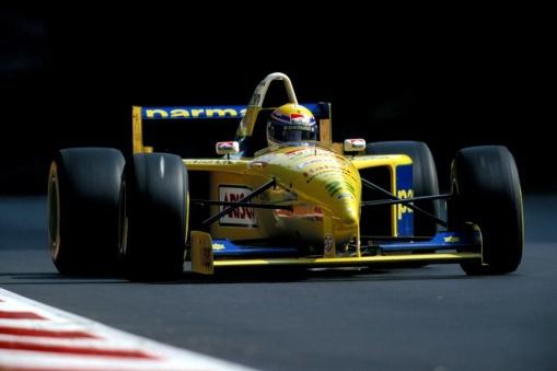 Roberto Moreno, todo azarado em Monza