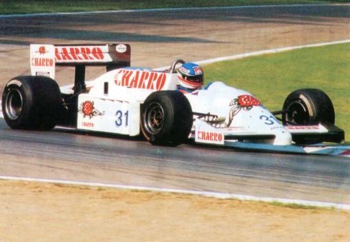 O primeiro carro de Fórmula 1 da AGS, o JH21C