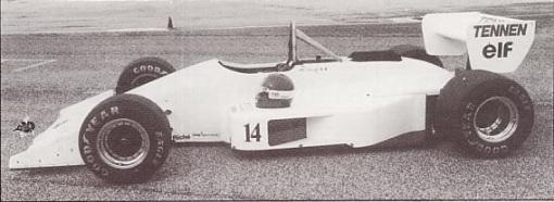 O simples porém belo carro acima não foi pilotado por Roberto Moreno em 1988...