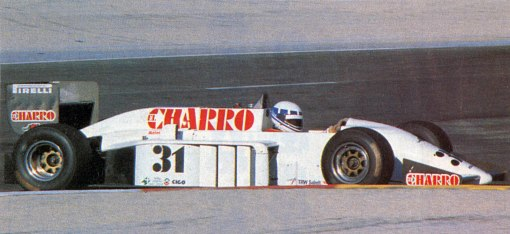 Didier Pironi e o AGS em Paul Ricard