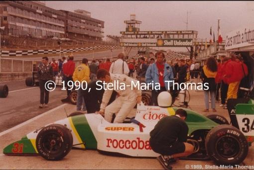 Bonanno em Brands Hatch, 1990