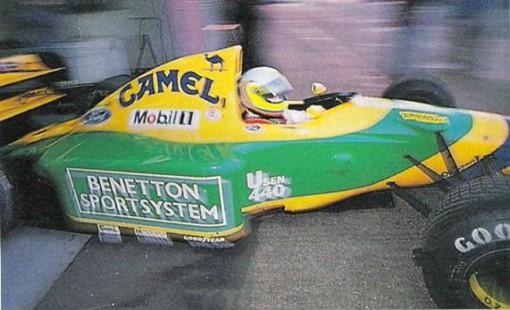 O famoso teste frustrado de Bonanno com a Benetton