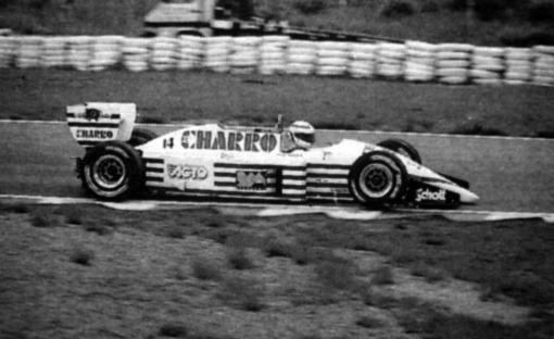 Jerez: a última vez em que Pascal Fabre largou na Fórmula 1