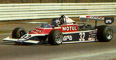 Richard Dallest, que proporcionou à AGS sua melhor temporada na Fórmula 2 ganhando duas corridas em 1980
