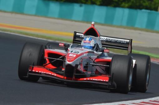 Sirotkin na etapa de Hungaroring da AutoGP, no ano passado
