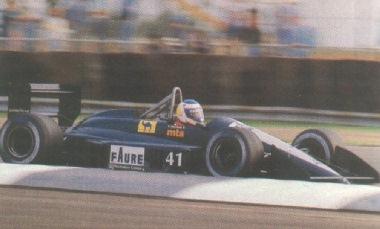 Yannick Dalmas, o substituto de Joachim Winkelhock, em Silverstone