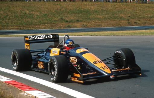 Hungaroring: última vez em que o logotipo da Bouygues foi visto em um carro da AGS