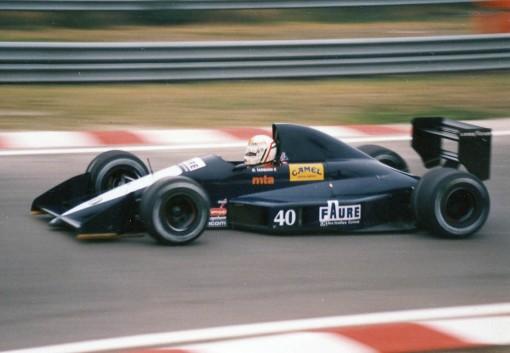 Tarquini em Spa-Francorchamps: mesmo após resolver seus problemas pessoais, ainda não conseguiu participar da corrida