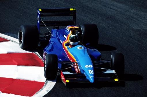 A nova (e coloridíssima) pintura que a AGS estreou no GP da França