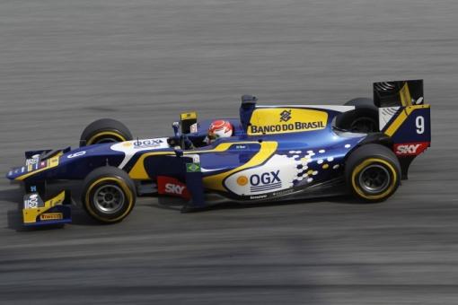 O brasileiro Felipe Nasr, um dos destaques na GP2 nesse ano