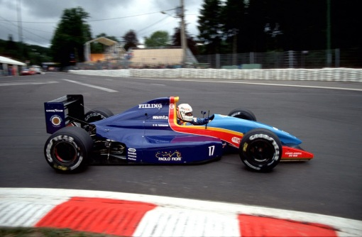 Tarquini em Spa-Francorchamps, minutos antes do acidente na Blanchimont