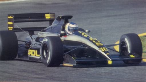 Em Jerez, a melhor corrida da AGS - e de Yannick Dalmas - em 1990