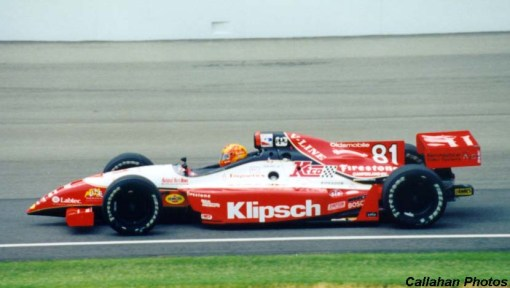 John Paul Jr. na Indy 500 de 1998