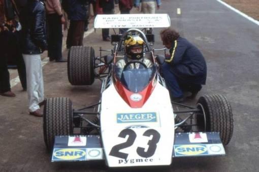 O brasileiro Lian Duarte, um dos pilotos da BERT em 1972