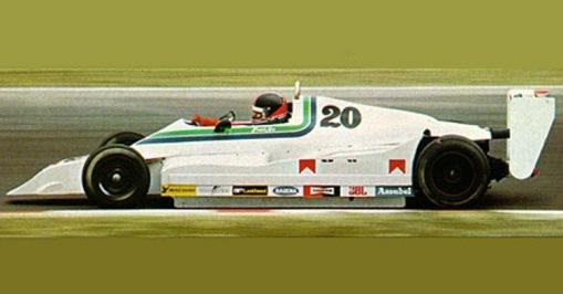 O Pilbeam MP42, o primeiro carro criado pela Onyx