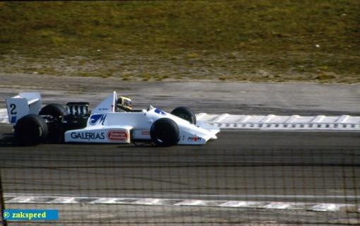 Russell Spence, que já havia corrido com a Onyx em 1986, volta para disputar as três últimas etapas em 1988