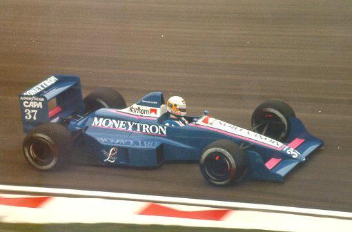 Gachot, ainda se adaptando à Fórmula 1, tenta se pré-classificar em Imola sem sucesso