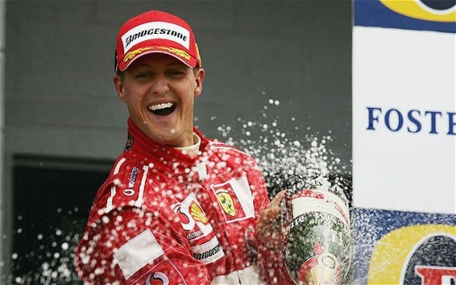 Sai dessa, Schumacher. Estamos com você