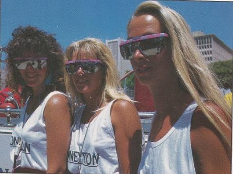 As modelos da Moneytron em Phoenix