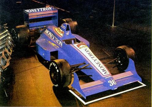 O pomposo lançamento do primeiro carro de Fórmula 1 da Onyx