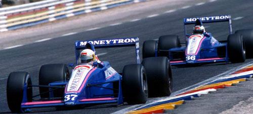 Bertrand Gachot, Stefan Johansson e os carros que só melhoravam