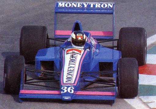 No México, Stefan Johansson se tornou o primeiro piloto a pré-classificar um Onyx