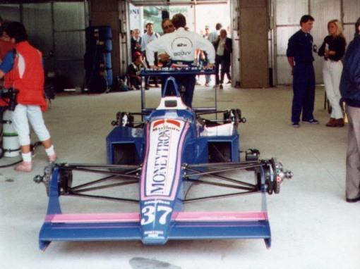 Bertrand Gachot correu em Monza e depois...