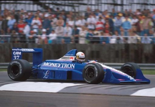 Bertrand Gachot, o outro homem da Onyx em Silverstone