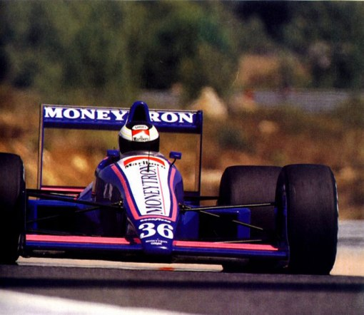 Mais uma de Stefan Johansson no Estoril